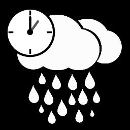 أمطار غزيرة بعد الظهر