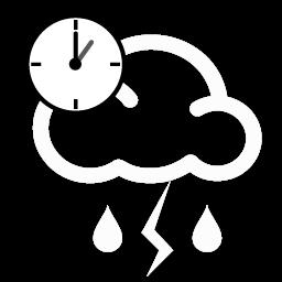 زخات أمطار رعدية بعد الظهر