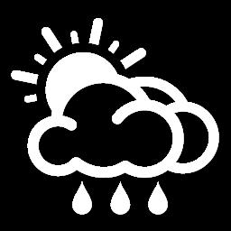 غالباً غائم مع زخات أمطار