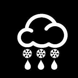ثلوج تتحول الى أمطار