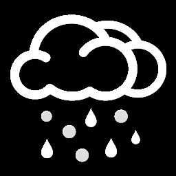 ماطر مع تساقط البَرَد