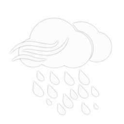 أمطار غزيرة مع رياح قوية