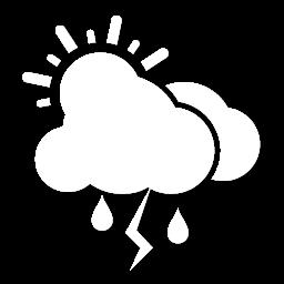 غالباً غائم مع زخات أمطار رعدية