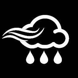 زخات أمطار مع رياح نشطة
