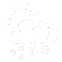 Mostly Cloudy and Snowy
