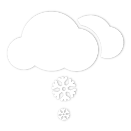 Scattered snow
