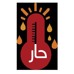 حار ورطب