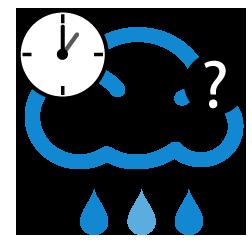 احتمال زخات أمطار بعد الظهر