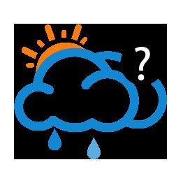 غالباً غائم مع احتمال أمطار خفيفة