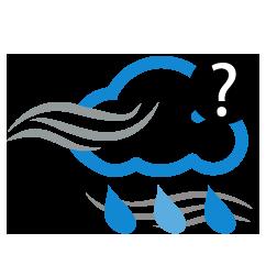رياح قوية مع احتمال زخات أمطار