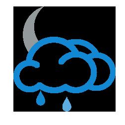 غالباً غائم مع أمطار خفيفة